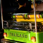 Traveling In A Tuk Tuk In Thailand